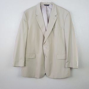 Jos A. Bank Big & Tall Blazer Suit Sports Coat 52L